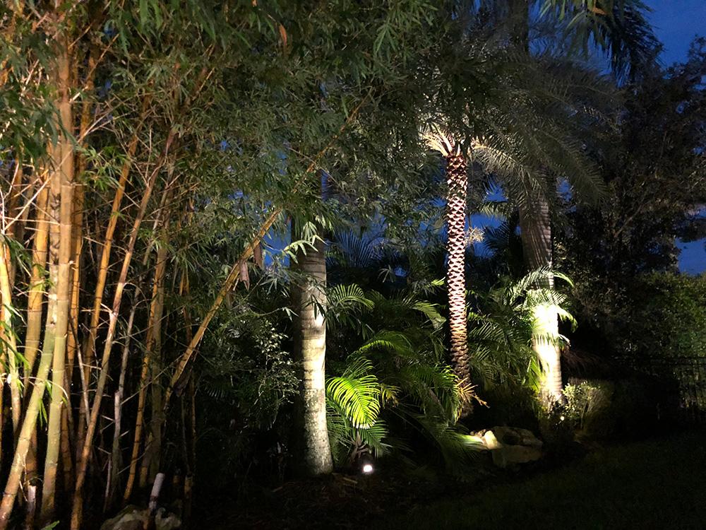 LED lighting install